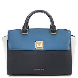 NWT MICHAEL KORS Sylvia Medium Top Handle Zip BAG